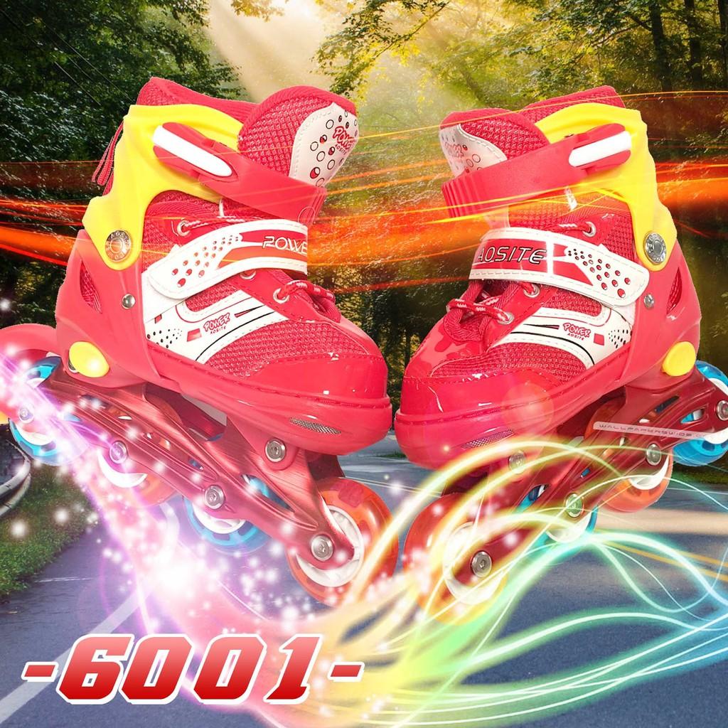 Sepatu Roda Inline Skate Power Aosite Pvc Type 6001  9a4564ad55