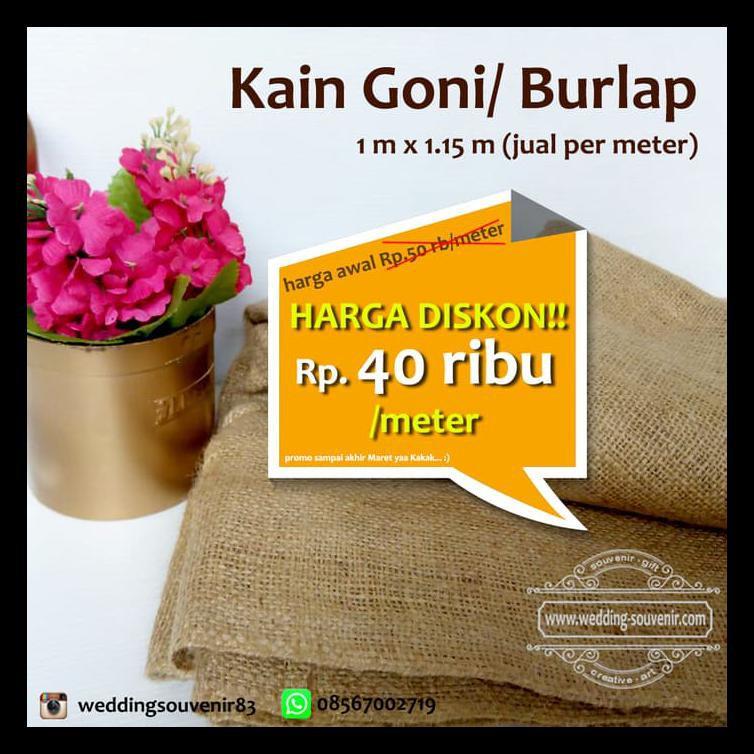 Kain Goni Diskon | TERMURAH | TERLARIS | | Shopee Indonesia