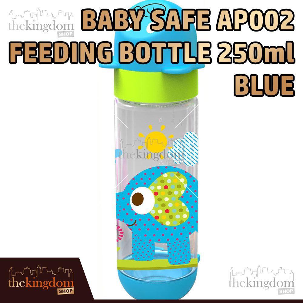 Babysafe Ap 001 Botol Minum Anak Bayi 125ml Blue Biru Gajah Elephant Susu Karakter Baby Safe 250ml Ap002 Niplle Slim Regular Shopee Indonesia