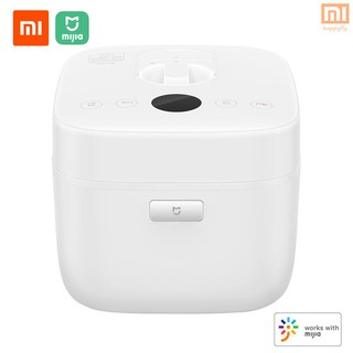 Xiaomi Mijia Electric Rice Cooker 5l Smart Home Alloy Cast Iron Heating Pressure Cooker Multicooker App Control Home Kitchen Appliances 220v 1100w Shopee Indonesia