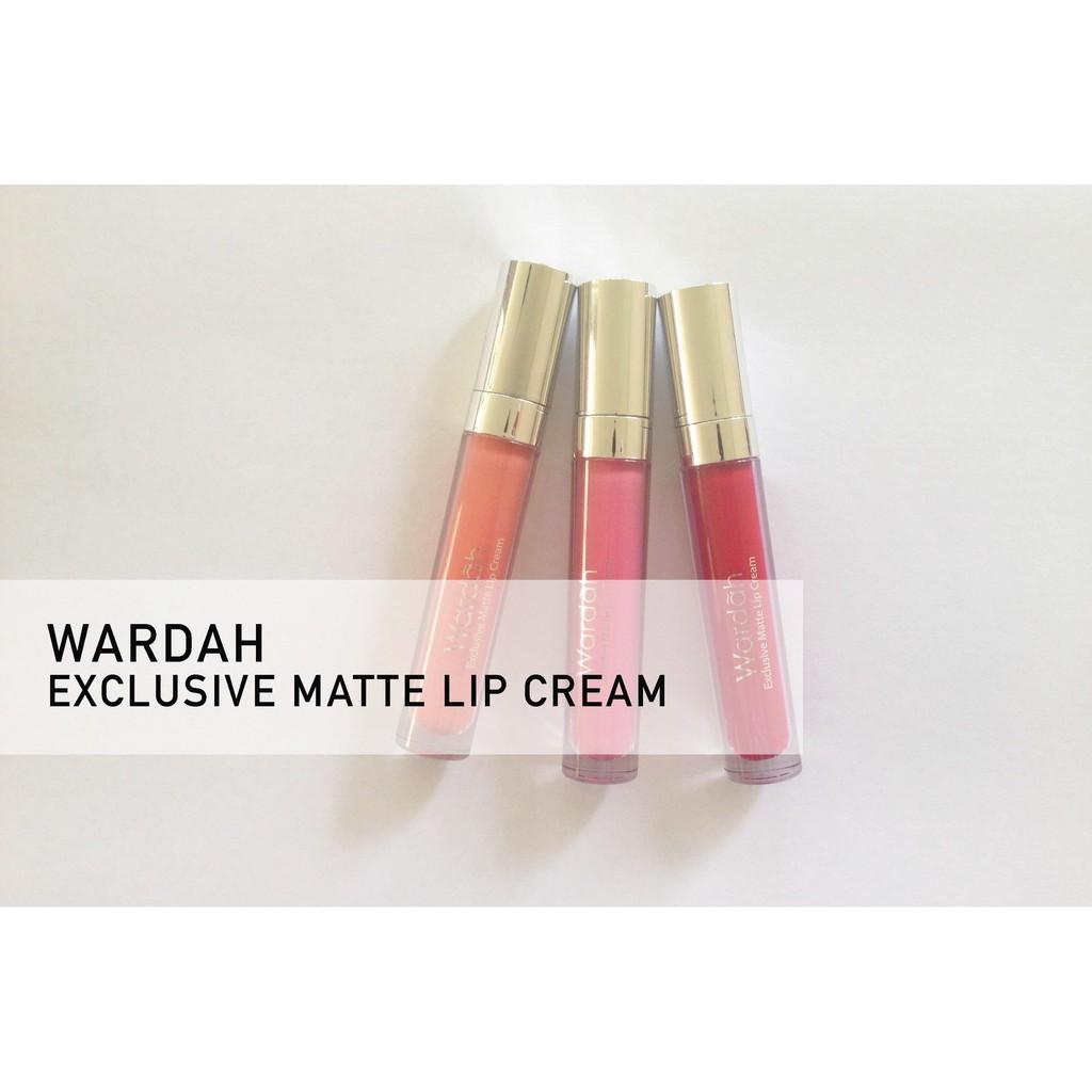 Original Wardah Exclusive Matte Lipcream Cair Shopee Indonesia Lip Cream