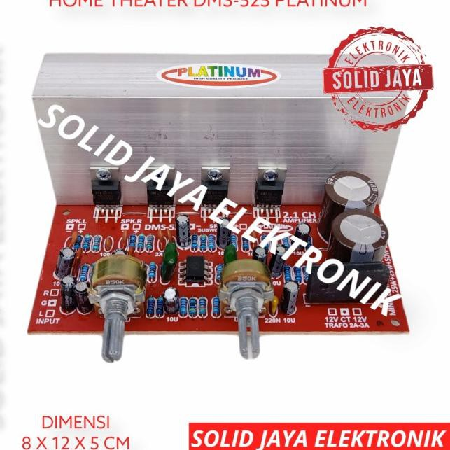 ➻ KIT POWER MINI COMPO 2.1 CHANNEL HI FI STEREO AMPLIFIER DMS525 DMS 525 (Laris)