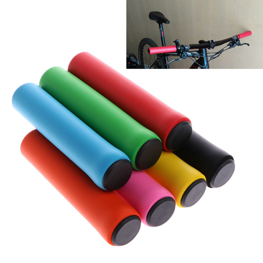 NEW 1 Pair Outdoor Bike Racing Bicycle Handle Bar Foam Sponge Grip Cover Nonslip