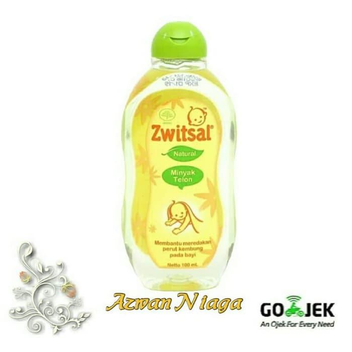 Perawatan Bayi - Minyak Telon - Konicare Zwitsal Minyak Telon 100Ml Natural 100 Ml Flash Deal