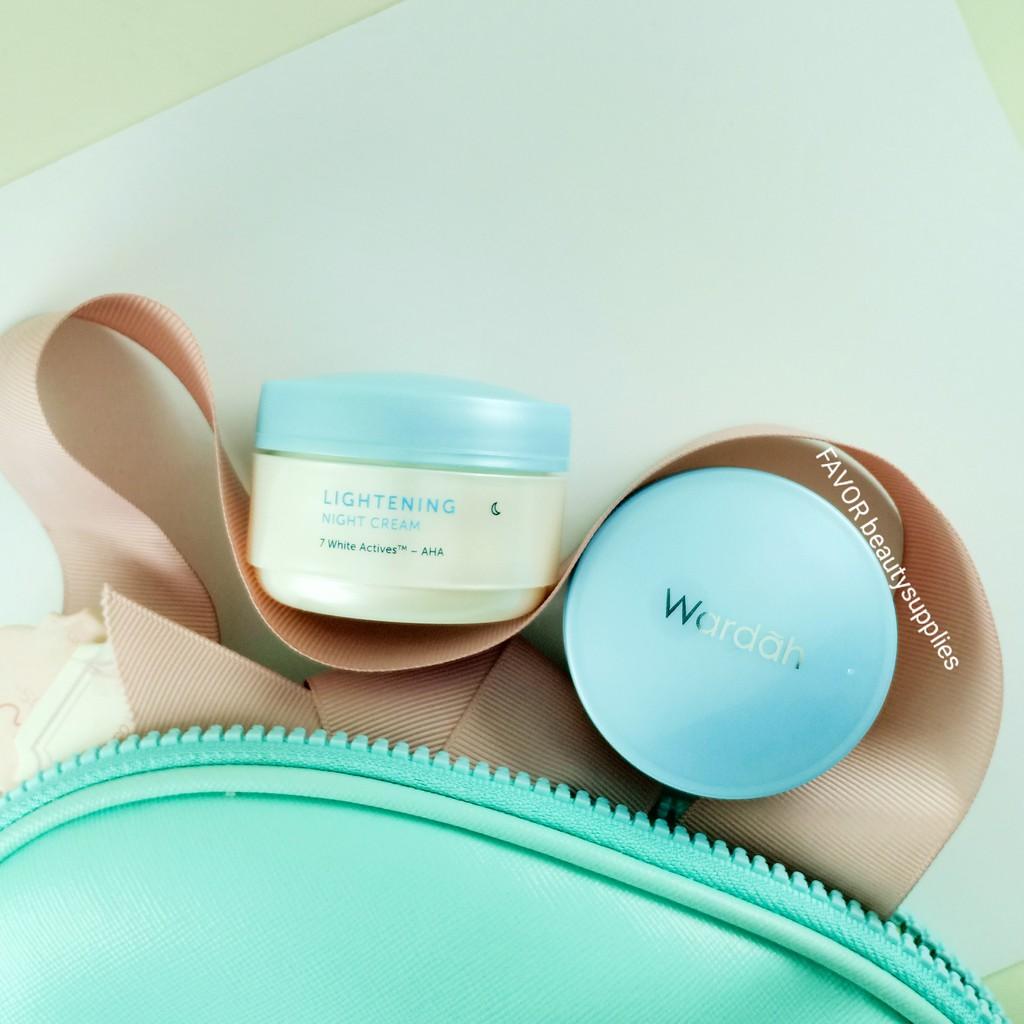 Wardah Lightening Night Cream 30g Shopee Indonesia Purifying Toner Kulit Berminyak 1500 Ml