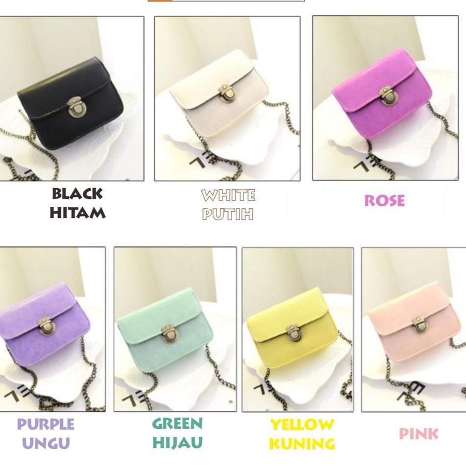 g baru versi Korea dari tas Messenger liar musim panas rantai tas bahu tas kecil   Shopee Indonesia