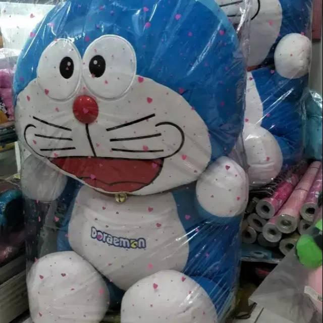 Boneka Doraemon Super Jumbo Big Size Boneka Dora Emon Boneka Mainan Kado Souvenir Doraemon Shopee Indonesia