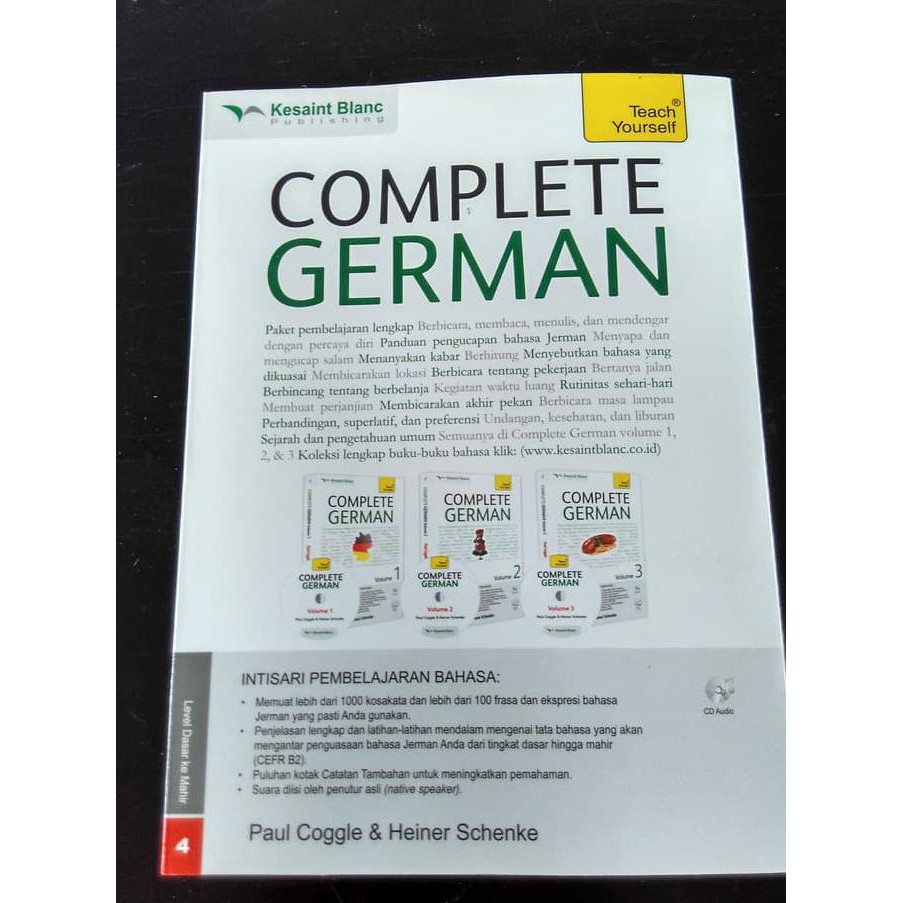 Paket Complete German Volume 1, 2, Dan 3 + Cd Audio | Shopee Indonesia