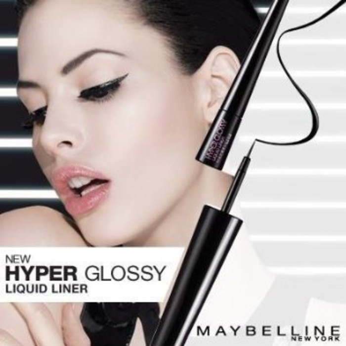 Maybelline Liquid Eye Liner Hyper Matte - Hitam / Eyeliner   Shopee Indonesia