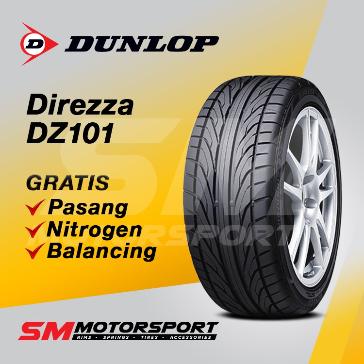 Ban Mobil Dunlop Direzza 205/55 R16 16