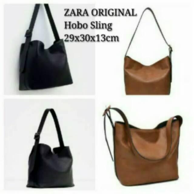 4bc82f2317 Zara hobo sling ORIGINAL