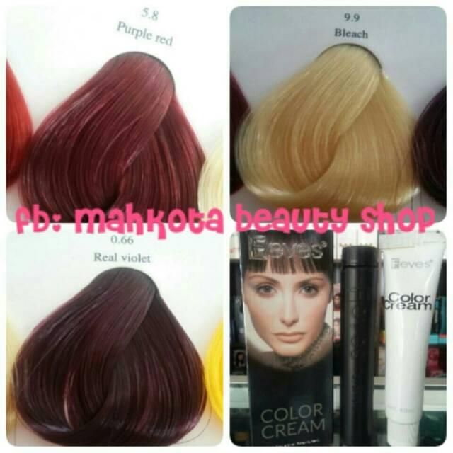 Feves Hair Color Cat Semir Rambut Shopee Indonesia