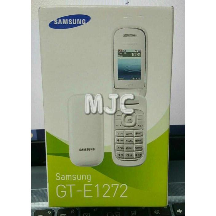 Samsung Caramel Gt-E1272/Samsung Lipat Dual Sim (Hitam & Putih) | Shopee Indonesia