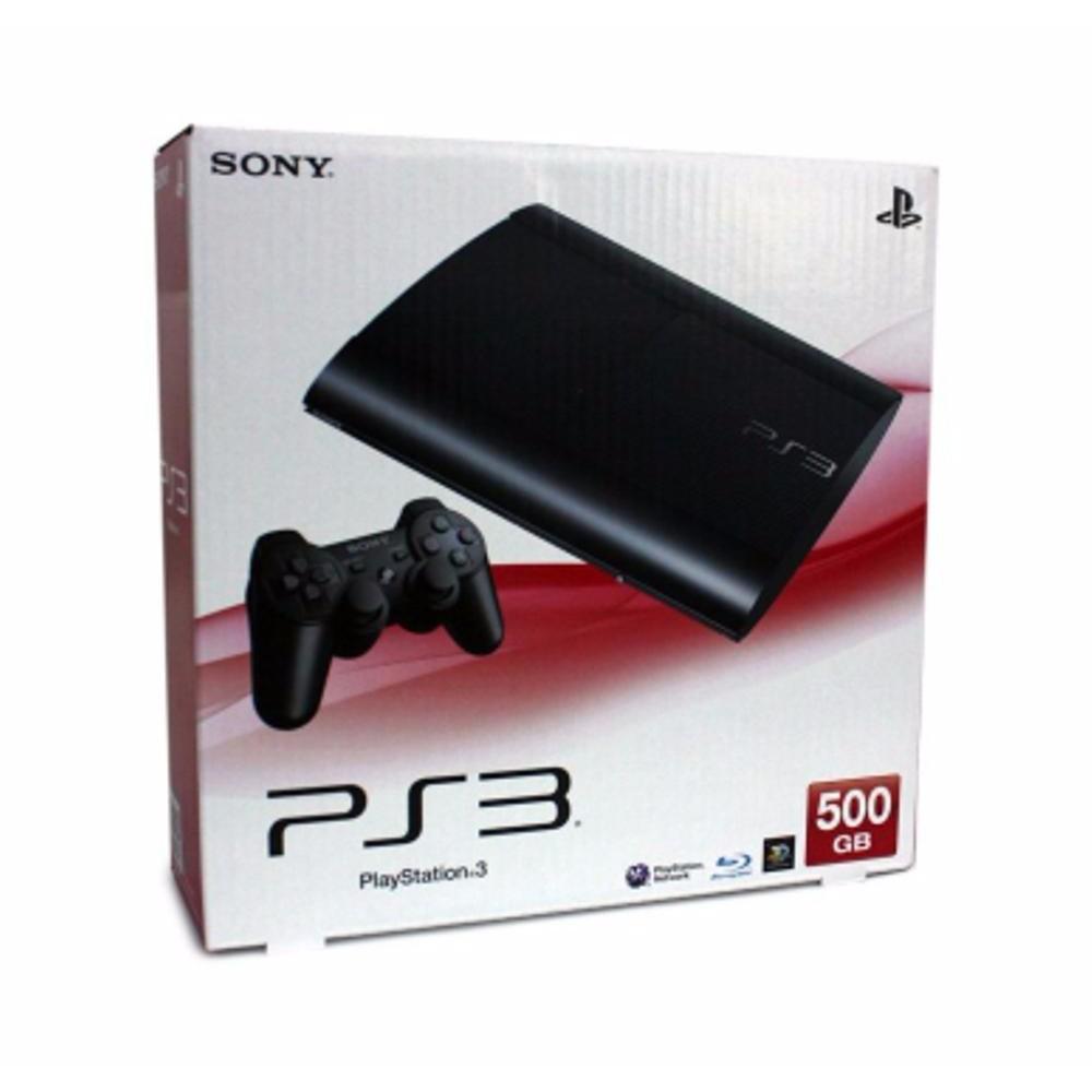 Refurbished Playstation 3 Slim 500gb Seri 2500a Cfw 475 Full Game Ps 20xxx Refurbish 480 Hdd Internal 120gb Dapatkan Harga Ps3