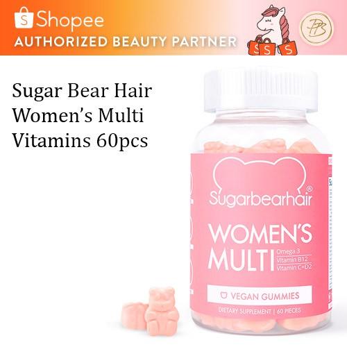 Sugarbearhair Suplement Vitamin Gum Permen Perawatan Rambut SugarBear Hair Original USA. Source · Serum rambut. Source · Sugar Bear Hair Women's Multi ...