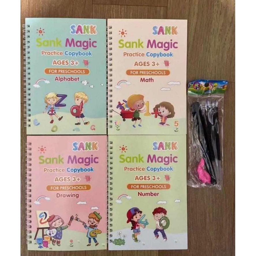 PO MAGIC BOOK ARABIC/SANK MAGIC BOOK/BUKU TULIS AJAIB/BUKU PINTAR/BUKU ANAK PINTAR