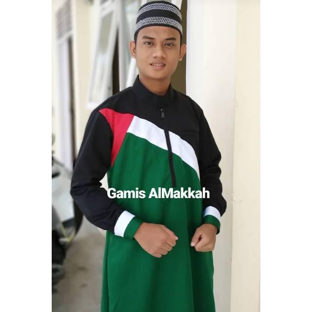 Jubah Pria Gamis Palestina Original Gamis Hunain Premium Shopee