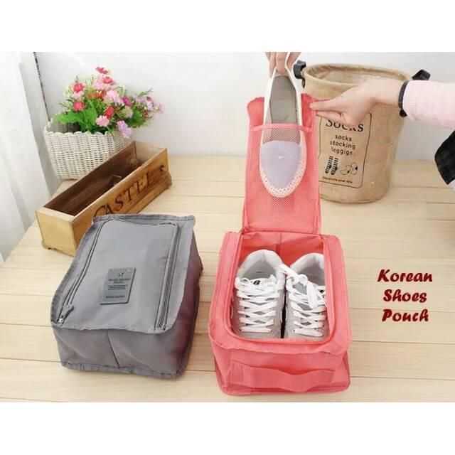KOREAN POUCH BAG / BAG ORGANIZER. Source · MURAH Kantong Kresek Bahan Kain (POLOS) Tas Belanja Pengganti Kantong Plastik   Shopee Indonesia