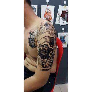 C 496 Dada Lengan Ukuran Besar Temporary Tattoo Tato Temporer Sementara Fashion Terbaru Shopee Indonesia