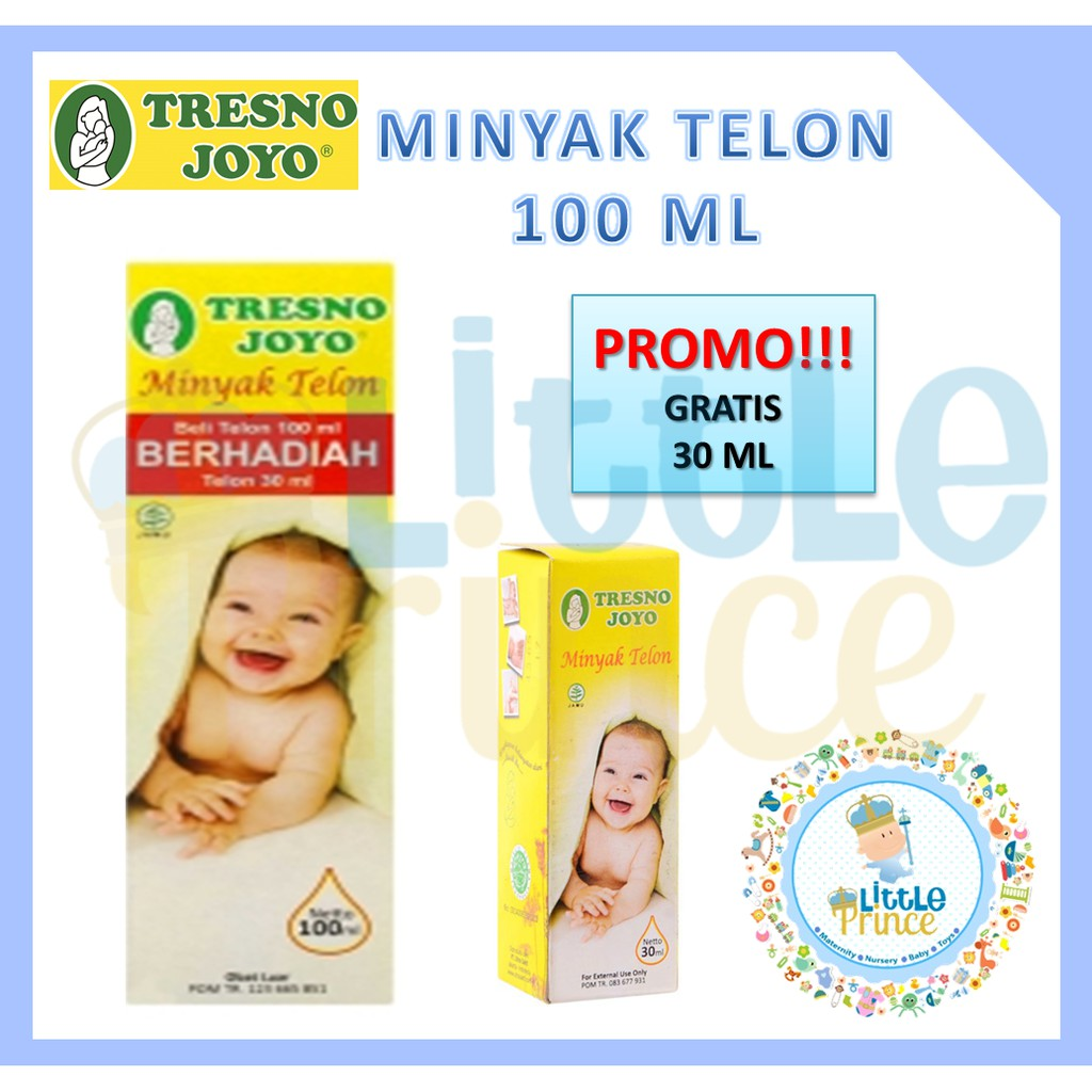 Tresno Joyo Minyak Telon Herbal Plus 60ml Shopee Indonesia Pluss 100ml