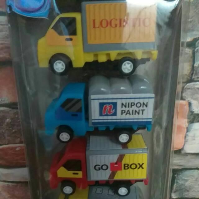 Mainan Mobil Truk Box Set Isi 6 Shopee Indonesia