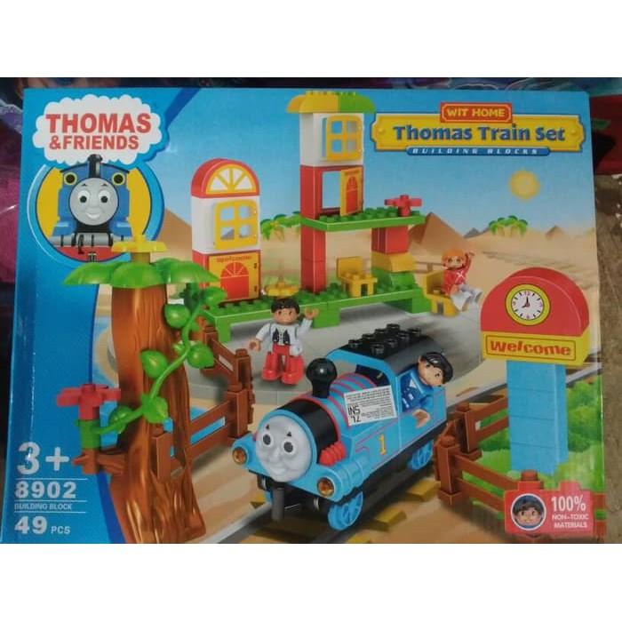 Thomas Train Set 8902 Shopee Indonesia