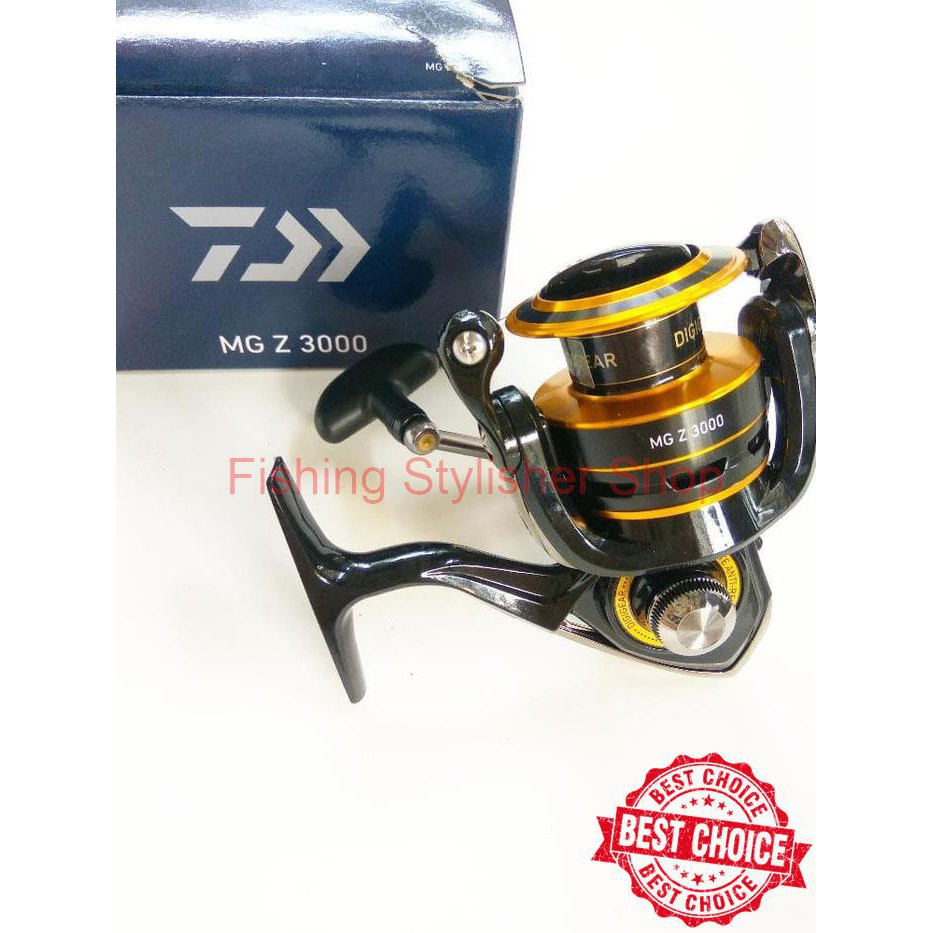 Reel Daiwa Rx 3000 Bi Shopee Indonesia 2500bi 3000bi