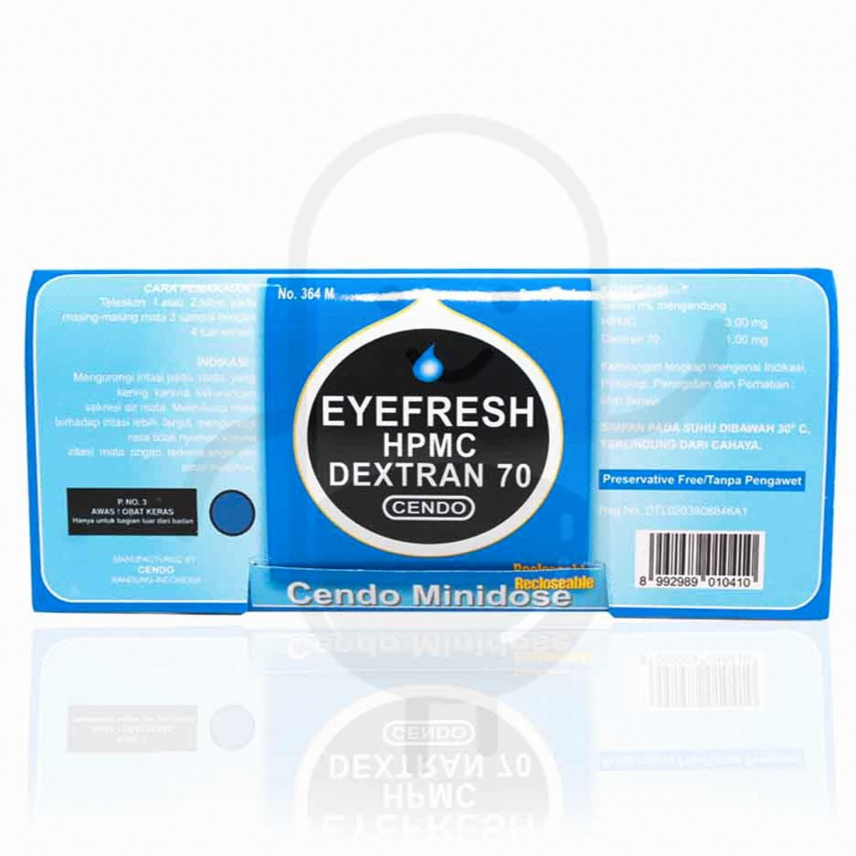 Cendo Efrisel 10 Tetes Mata 5ml Shopee Indonesia Eye Fresh Botol