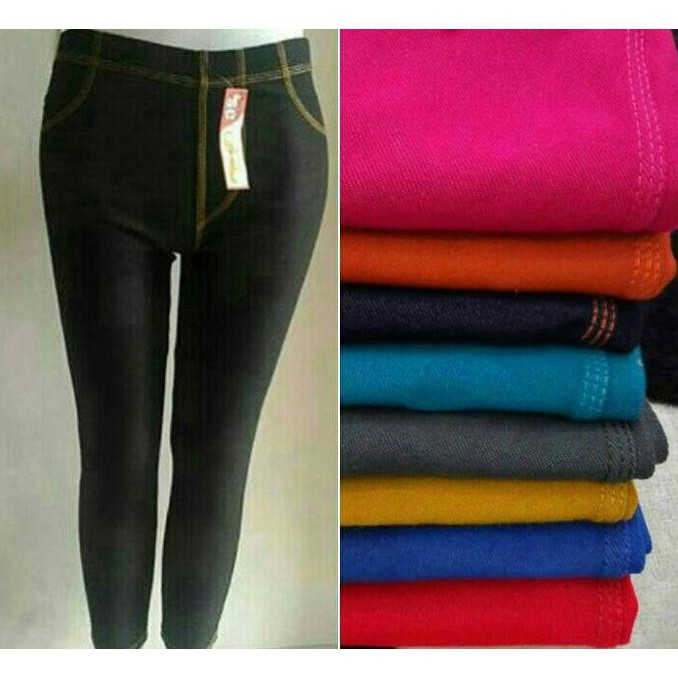 Promo Turun Harga Celana Legging Jeans Shopee Indonesia