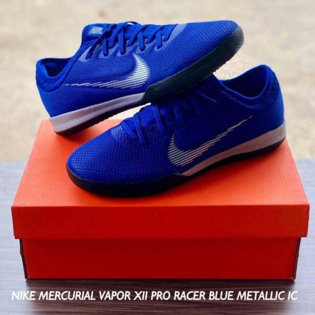 deb65a8fe Nike Mercurial VaporX XII Pro Racer Blue Metallic IC
