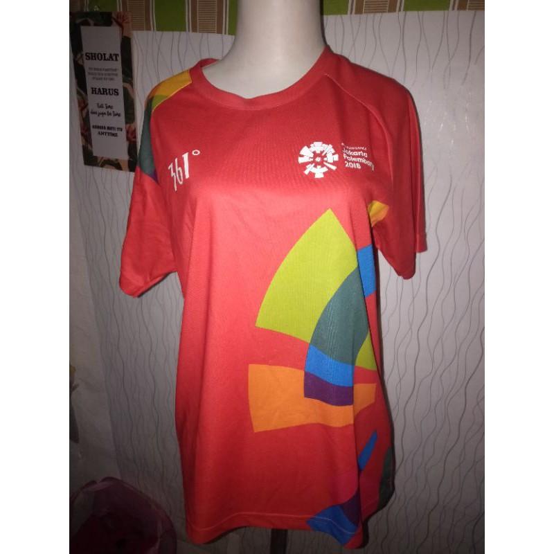 baju volunteer asian games 2018