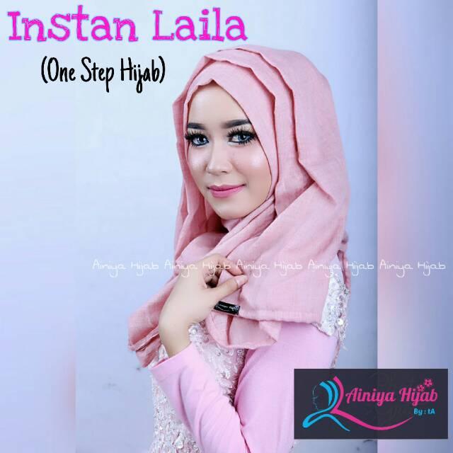 paket parisku hijab pashmina instant katun premium amira fanta . Source · Jilbab Instan Cantik Tazkia