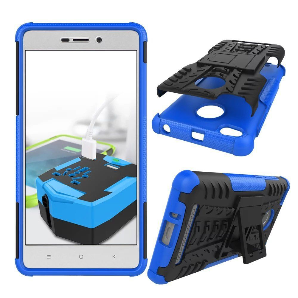 Xiaomi Redmi 3 Pro 3s New Transformer Armor Hybrid Case With Stand Black List Blue Spigen Rugged Capsule Oppo A39 A57 Tough Tech Temper Glass Shopee Indonesia