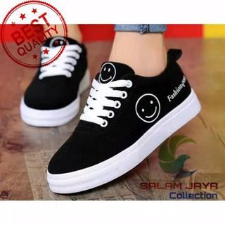 Sepatu Cewek Sepatu Sneaker Smile Sepatu Sekolah Sepatu