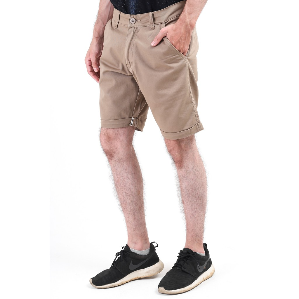 Cottonology Chino Short Pants Shopee Indonesia Brown Jaket Bomber Large