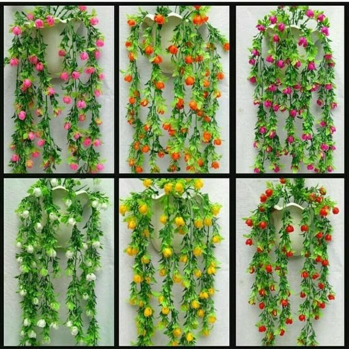 Jual Bunga Hias Bunga Dinding Hiasan Dinding Hiasan Rumah Bunga Plastik Vas Terbaik Shopee Indonesia