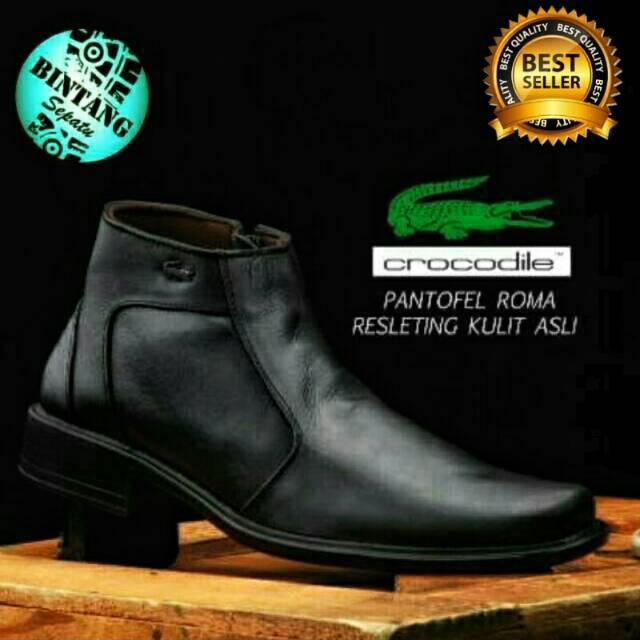 Brand Sepatu boot pria kulit merk Boston Super Legion   40 Brodo Bally  41   tdy  e5e3a941ae