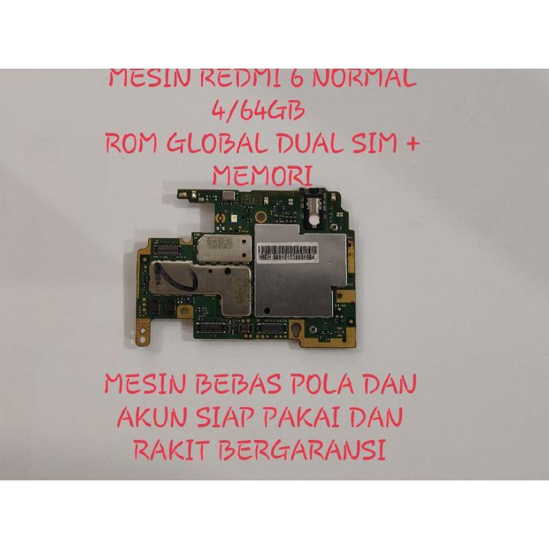 Mesin redmi 6 normal 4/64gb mesin redmi 6 normal mesin redmi 6 normal