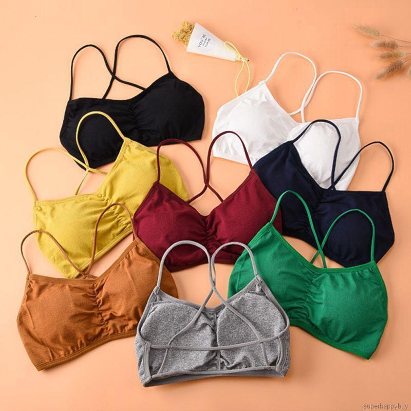 Women Underwear Seamless Slim Wrap Chest Bra Perspective Tops Vest Off Shoulder