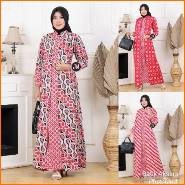 Harga Model Gamis Batik Kombinasi Terbaik Januari 2021 Shopee Indonesia