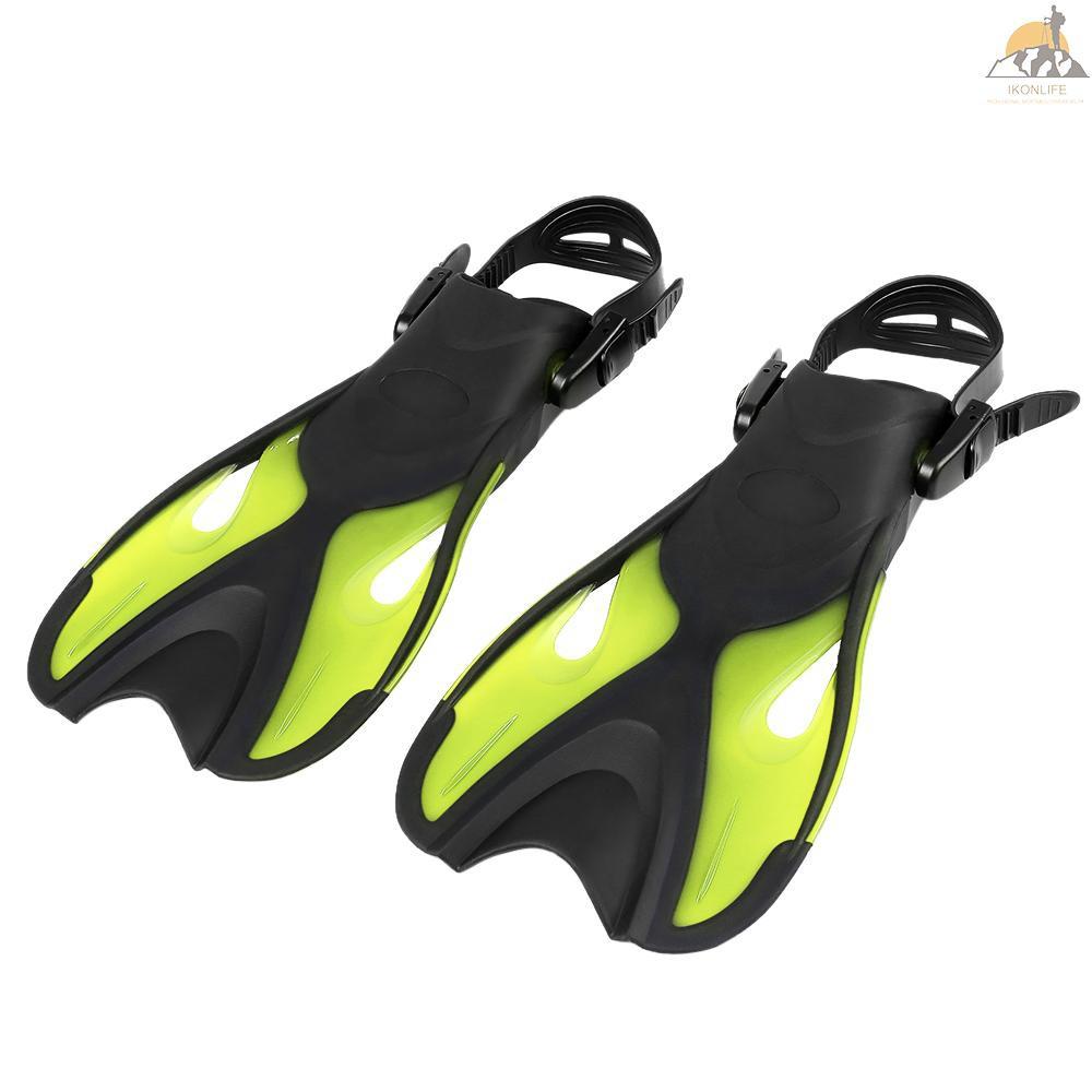 1Pair Scuba Adjustable Diving Swimming Fin Dive Straps Kit Rubber Snorkel Sub