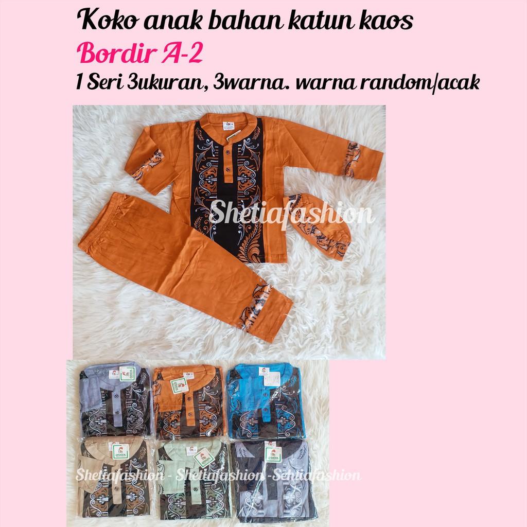 Harga Dan Spesifikasi Setelan Koko Anak Bordir Celana Peci Kids Produk Ukm Bumn Nabilla Biru Donker Ty Hijab Baju 1 3tahun Kz437 Batik Muslim Baby Boy Shopee Indonesia
