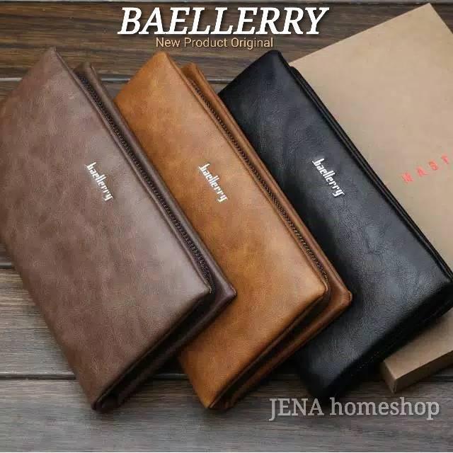 Handbag Pria NEW BAELLERRY Brown Original Simple  94bb6425a1