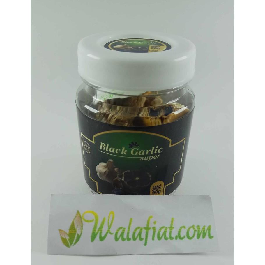 Black Garlic Kualitas Super Berkhasiat Bawang Hitam Lanang Tunggal 500 Gram 65 Butir