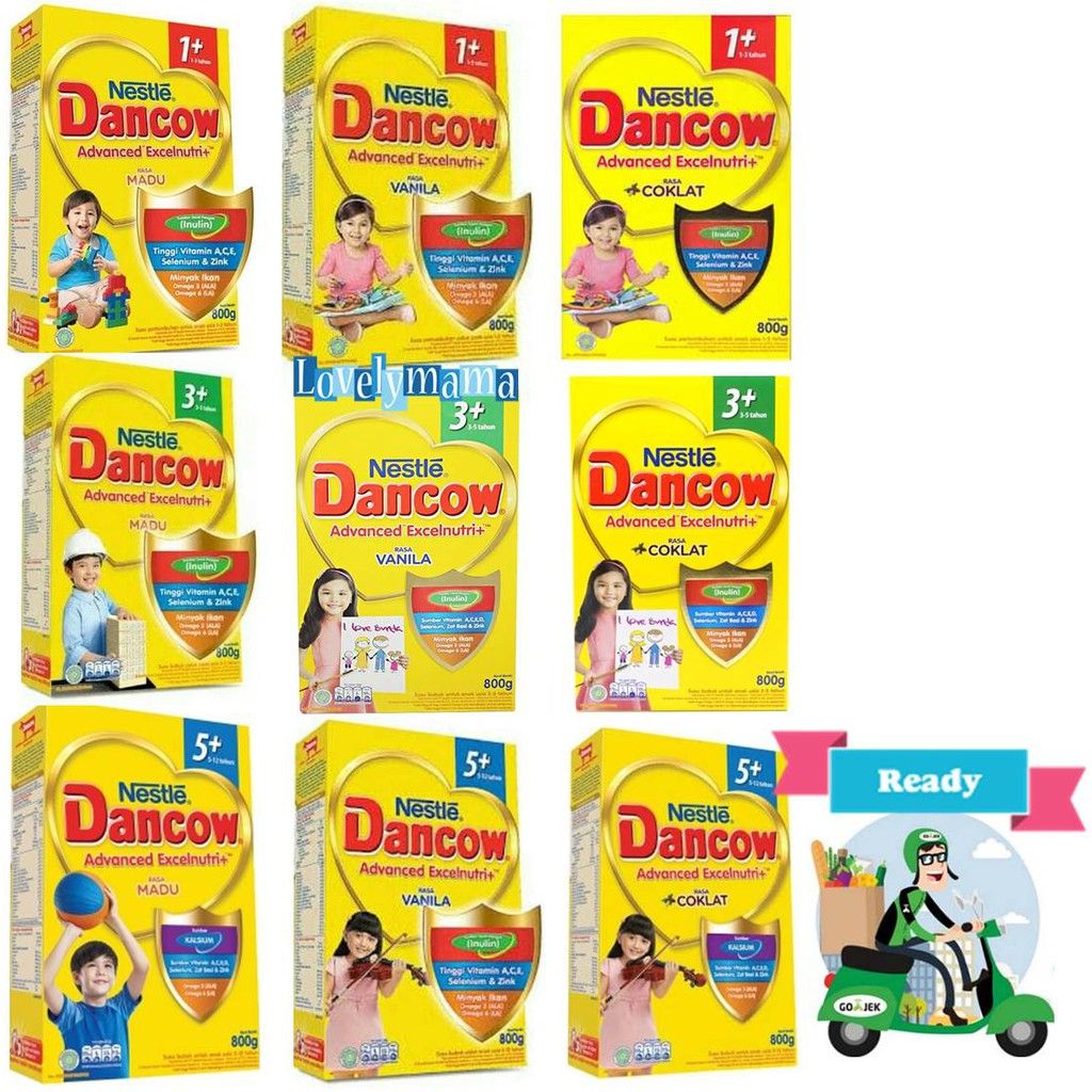 Up To 30 Discount From Brand Dancow 5 1 Madu 800gr 3 Vanila Cokelat