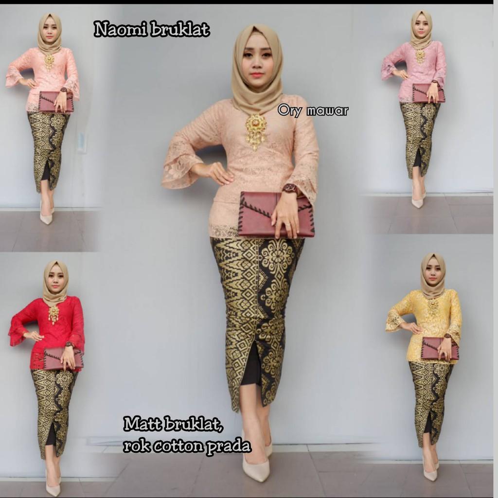 Model Batik 2019 Model Kebaya 2019 Model Baju Batik 2019 Model Baju Gamis Batik Kombinasi Kain Polos