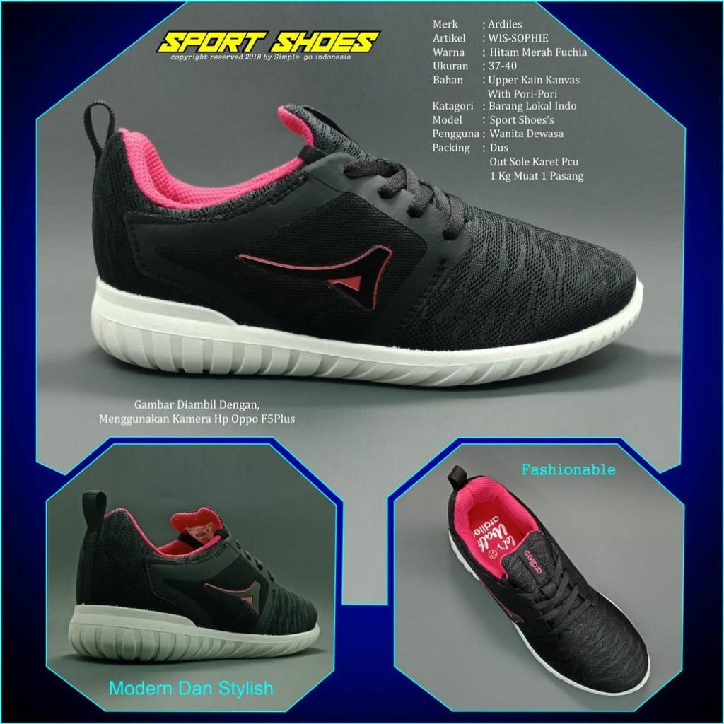 Ardiles wanita sepatu sport sophie 37-40  4eb2eddc92
