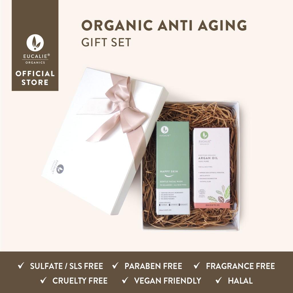 Eucalie Organic Anti Aging Gift Set