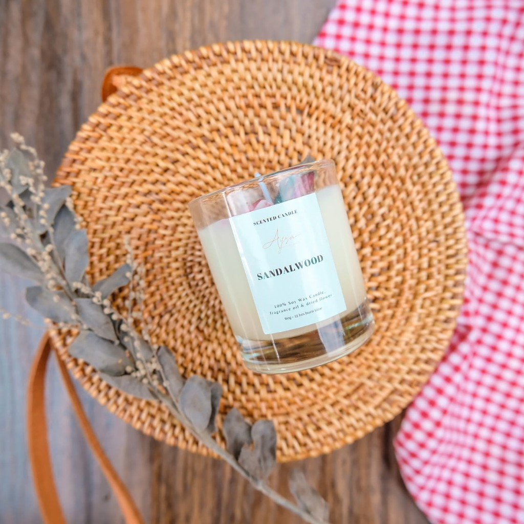 Scented candle large 250g