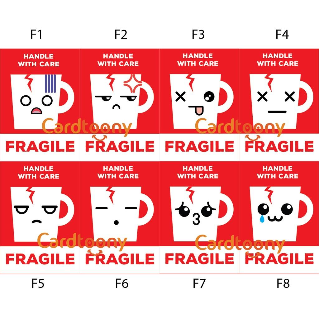 Promo Belanja Stikerfragile Online November 2018 Shopee Indonesia Paket Sticker Fragile Jangan Dibanting